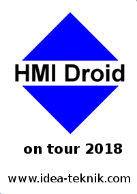 HMI Droid on tour 2018